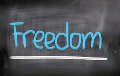 Freedom Concept Stock Illustration