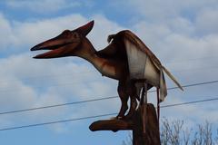 Pteranodon - Pteranodon longiceps - stock photo