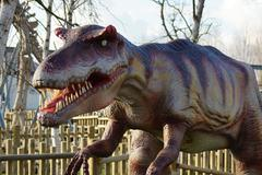 Allosaurus - Allosaurus fragilis - stock photo