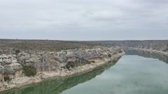 Pecos river 4k video Stock Footage