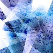 Abstract blue grunge vector background Stock Illustration