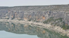 Pecos river far static 4k Stock Footage