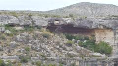 Texas rocky desert 2 video 4k Stock Footage