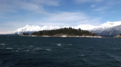 Alaskan Sea View - stock footage