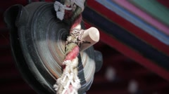 Bell in a temple, Tokyo, Japan Stock Footage