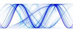 sinusoid - stock illustration