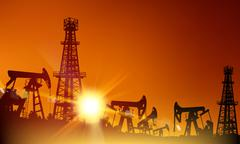 Oil industry. - stock illustration