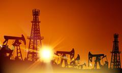 Oil industry. Stock Illustration