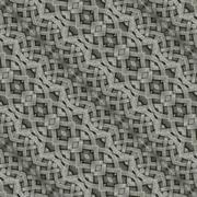 ancient arabesque stone ornament pattern - stock illustration