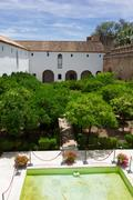 Alcazar of Cordoba, Spain - stock photo