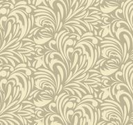 seamless swirl pattern - stock illustration