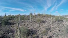 Southwestern Desert Aerial Stock Footage