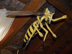 Big  hornet - stock photo