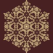 Orient  pattern. abstract background Stock Illustration