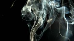 Cigarette Smoke 3 Stock Footage