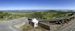 View from Alentejo Town of Monsaraz. Portugal - stock photo