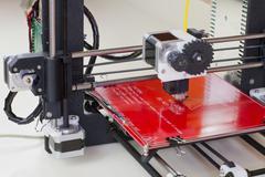Three dimensional printer - stock photo