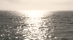 Beautiful Water with Heavenly Horizon 2 Stock Footage