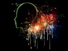 Artificial Intelligence Stock Illustration