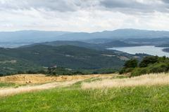 passo di viamaggio (tuscany - emilia-romagna) - stock photo