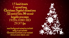 15 Christmas Trees Stock After Effects