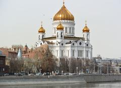 The Cathedral of Christ the Savior Stock Photos