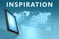 Stock Illustration of inspiration