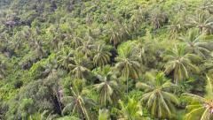 Flying over the Ko Racha Yai Island. Stock Footage