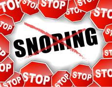 Stop snoring Piirros