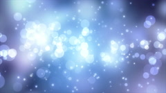 4K Abstract motion background, shining light, stars, particles, rays, loop. Stock Footage