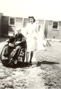 Doris Marens Konover at Cushing Hospital, Farmington 1946 Free Stock Photos