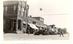 Main Street East Side - Harvard, Nabraska (pop 700) - free stock photo