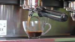 Coffee maker - stock footage