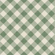 Seamless texture of green plaid - stock illustration