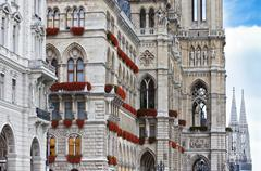 Vienna town hall - stock photo