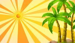 Stock Illustration of Sunlight