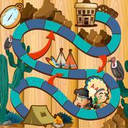 Stock Illustration of Boardgame