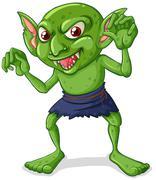Stock Illustration of Goblin