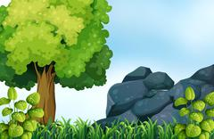 Stock Illustration of Nature