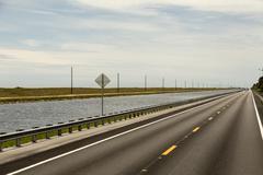 Florida road Stock Photos