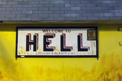 Welcome to hell Stock Photos