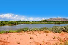 Rio Grande Nature Center State Park Stock Photos