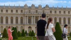 The Palace of Versailles Stock Footage