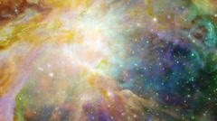 Space Travel, Space Exploration, Galaxy 005 - HD - stock footage