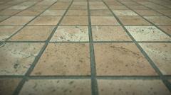 Marble Floor Stock Footage