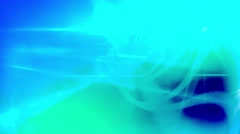 Blue Organic Lines, Bright Light Abstract Motion Background - 4K High Res - stock footage