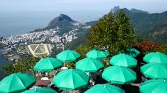 Rio de Janeiro, Brazil - Corcovado Mountain. Stock Footage