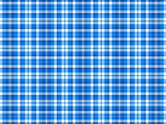 blue and white plaid background - stock illustration