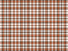 Brown, orange, and white plaid Stock Illustration