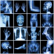 Collection multiple part of human Stock Illustration